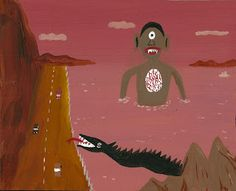 """Javier Mayoral, 2011, ein Künstler mit spanischen Wurzeln, der in den USA lebt und seine kleinen, erstaunlich vielseitigen und humorvollen Bilder laufend auf Ebay anbietet. Die FAZ widmete ihm den Artikel: """"Kunst nach Hausmacherart""""(http://www.faz.net/aktuell/feuilleton/kunstmarkt/cheap-art-kunst-nach-hausmacherart-11820798.html) Einige seiner Arbeiten sind neben vielen Arbeiten anderer Künstler in der Sammlung auf www.artbrut.li und www.aussenseiterkunst.ch zu sehen."""