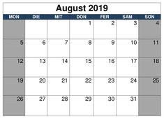 Printable May 2019 Calendar Word June 2019 Calendar, Excel Calendar, Monthly Calendar Template, Calendar Printable, August Kalender, November, Juni, Planer, Pdf