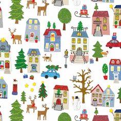3110 Servilleta decorada Navidad