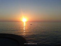 Sunset from biel Beirut