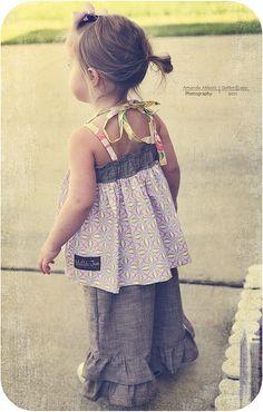 Can't wait until Z is big enough for this!  Matilda Jane | Ellie + Violet halter & Lindy ruffles