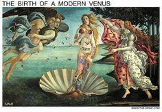 Botticelli - The Birth of a Modern Venus