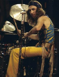 Mitch Mitchell, drummer with the Jimi Hendrix Experience, 1968