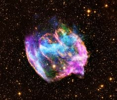 Supernova remnant W49B. Black holes are created when a supernova explosion destroys a massive star. Scientists have discovered dozens of black holes, but all of them are already formed. So, when scientists recently saw different distorted remains of a supernova, they knew it something special. What the scientists believe they observed was the infant phases of a black hole, or the youngest black hole ever recorded in the Milky Way galaxy.