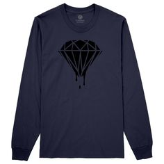 Leaking Diamond Long Sleeve T-shirt