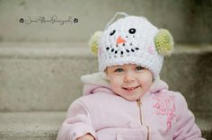 Frosty the Snowman Hat by EternallyHooked on Etsy, $28.00