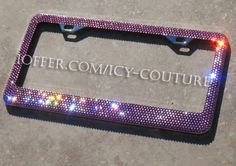 license plate frames - Google Search