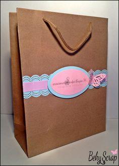 Bolsa regalo (gift bag) personalizada