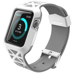 Amazon.com: Apple Watch Case, i-Blason Unity Series Premium Hybrid Protective Bumper Protective Case for Apple Watch 38 mm 2015 Release [Not Compatible with 42 mm] (Blue): Electronics