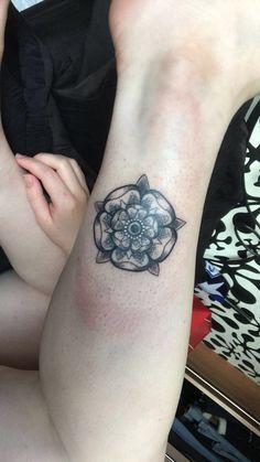 Yorkshire Rose tattoo