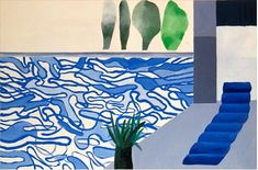 krahkrahkrah:      Picture of a Hollywood Swimming Pool David Hockney  Via http://theartstack.com