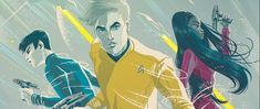Catching Up with IDW's Boldly Go Comic-Book Adventures   Right now only Q could tell us if there will ever be a fourth movie set in the Kelvin Timeline. Star Trek Beyond which only gets better with repeated viewings tees everything up for further adventures but it's also the perfect high note with which to conclude this particular version of events for our beloved crew of the Enterprise.  Conclude that is in live-action form. What you may not be aware of is that the story of the new Kirk…