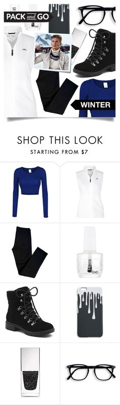 """""""Winter Getaway"""" by tara-omar ❤ liked on Polyvore featuring LE3NO, KJUS, J Brand, Maybelline, G.H. Bass & Co., Givenchy, Post-It, Massimo Dutti, Beauty Rush and Winter"""