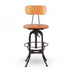 retro bar stools   Home › FURNITURE › STOOLS › Toledo Vintage Bar Chair/Stool Black