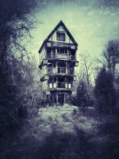 The Witches Commune (by plash1)  abandoned places, abandoned house, abandoned building