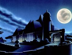 The most rare and awesome pics from Batman: The Animated Series & More! Gotham City, Jim Lee Batman, Im Batman, Lego Batman, Dc Comics, Batman Comics, Bruce Timm, Cartoon Background, Animation Background