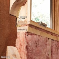 Seal Narrow Gaps with Foam - Seal around window and door jambs with expanding…