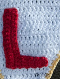 The Moogly Crochet Alphabet - Say It With Free Crochet Letter Patterns! Crochet Letters Pattern, Crochet Alphabet, Letter Patterns, Crochet Patterns, Afghan Patterns, Crochet Ideas, Moogly Crochet, Crochet Stitches, Free Crochet