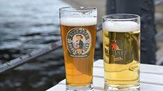 German beers in the sun by the river German Beer, Berlin, River, Sun, Drink, Food, Beverage, Essen, Meals