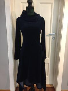 High Neck Dress, Sewing, Dresses, Fashion, Turtleneck Dress, Vestidos, Moda, Dressmaking, Couture