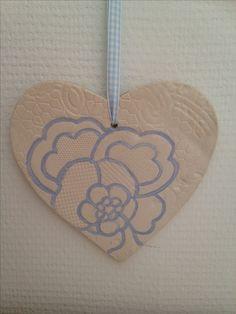 A ceramic heart!
