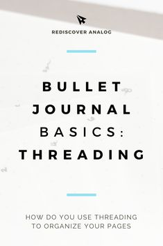 Bullet Journal Index Threading bullet journal index threading the details. Instead of attempting to write a full narrative of the event you are scrapbooking, use short bullets to t. Bullet Journal Examples, Bullet Journal Index, Bullet Journal Tracker, Bullet Journal Layout, Bullet Journal Inspiration, Bullet Journals, Journal Ideas, Reading Notes, Printable Planner