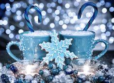 Sweet blue Christmas