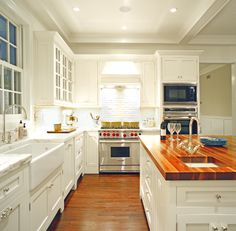 the Polished Pebble: Kitchens with Clutter...What Do We Really Want?