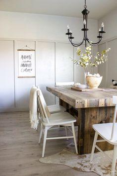Farmhouse Dining Tab