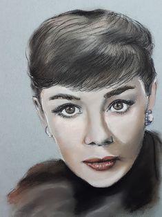 Audrey Hepburn - pastel (2021) Audrey Hepburn, Game Of Thrones Characters, My Arts, Pastel, Fictional Characters, Cake, Fantasy Characters, Crayon Art, Melting Crayons