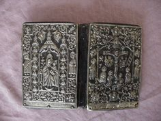 """ One of the first printed Bibles in Armenian. Printed in Amsterdam 1668. New Testament with silver binding."""