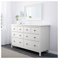 IKEA - HEMNES 8-drawer dresser white