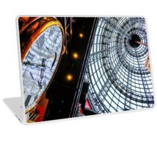 Clock at the Shot Tower - Melbourne Central, Victoria Laptop Skin