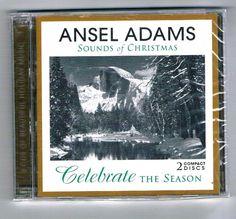 Ansel Adams Sounds Of Christmas  2 CD set  New Sealed in Pkg #Christmas
