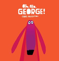 Oh No, George!: Chris Haughton: teaching self control/impulse control (pop: adhd,ppd) goal: figure out a way george can manage his impulse?vibrant shapes and paper create george and ways he can control himself Chris Haughton, Good Books, Books To Read, Roman Jeunesse, Impulse Control, Album Jeunesse, Self Regulation, Emotional Regulation, Home