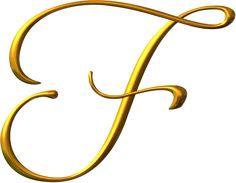 Alfabeto dorado PNG  | alfabeto dorado png