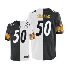 11d3d0a6b Ryan Shazier Men s Limited Team Road Two Tone Jersey  Nike NFL Pittsburgh  Steelers