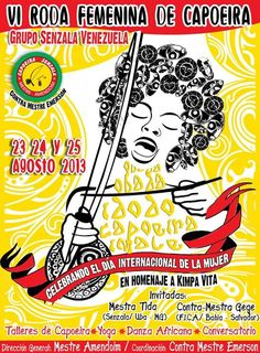 VI Roda Femenina de Capoeira del Grupo Senzala en Venezuela