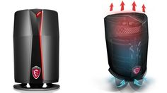"""MSI today unveiled the final specs and availability for the Vortex, a mini-tower gaming PC the company is calling the """"world's smallest gaming cylinder."""""""