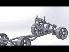 MECH 3105 Design Project - Chassis Modification, Addition of Wheels - YouTube