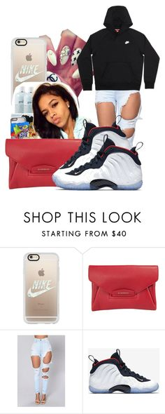 """""""Cousin At Jamboree ❤️"""" by shamyadanyel ❤ liked on Polyvore featuring Casetify, Givenchy and NIKE"""