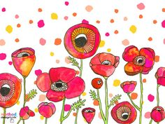 @methodhome Wild Poppy designed by Lisa Congdon