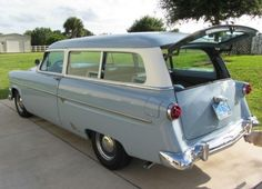 Ford Ranch Wagon- looks like a surf car to me