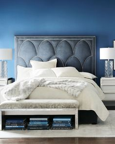 Shop Arista Upholstered Bed from Bernhardt at Horchow, where you'll find new lower shipping on hundreds of home furnishings and gifts. King Beds, Queen Beds, Queen Bedding, Neiman Marcus, Bed Price, Bernhardt Furniture, California King Bedding, Home Bedroom, Master Bedroom