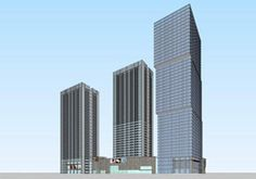 现代风格办公楼 现代风格公寓
