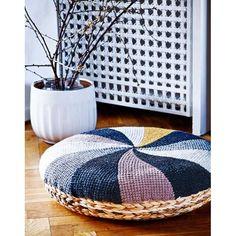 Tunesisk Hækling - til dig og din bolig tunisian crochet design by Pernille Cordes