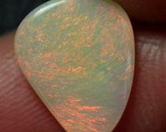 Lightning Ridge Solid Crystal Opal Stone 1.39ct