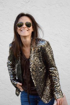 sequin jackets, I have about 5 vintage beaded jackets...:) But for some reason when I wear them in my small town people look at me like a crazy person....