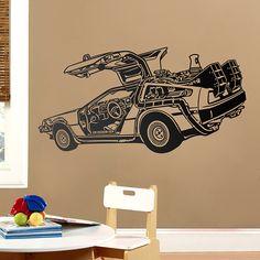 Vinilos Decorativos: DeLorean