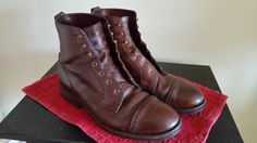 Allen Edmonds Bayfield Size 9 $100 - Grailed Allen Edmonds, Me Too Shoes, The Selection, Combat Boots, The 100, Footwear, 4 Years, Brown, Leather